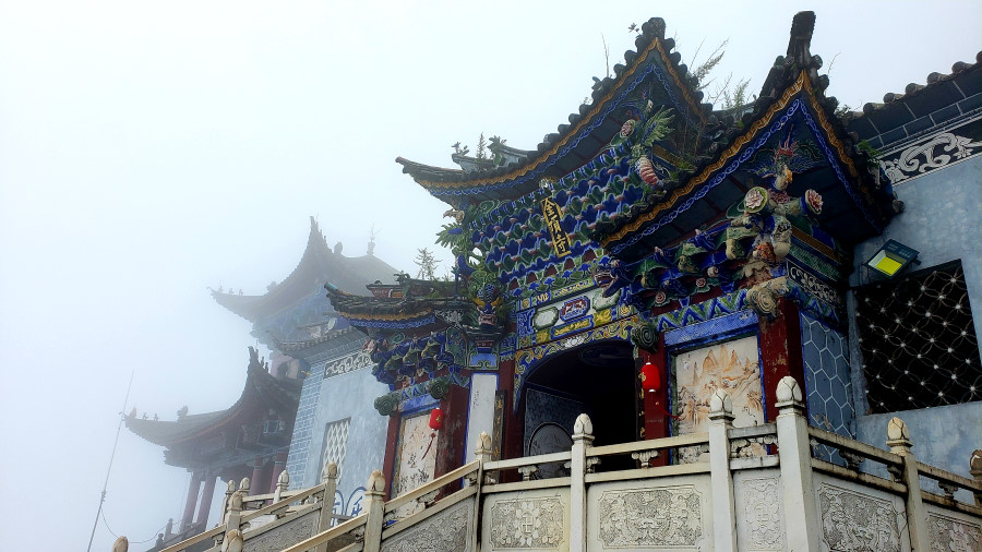 Jizu Mountain_old_temple