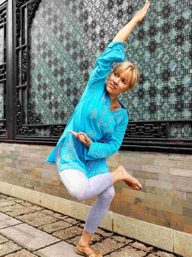 Olya Yoga - yoga instructor at Yoga Hub Club