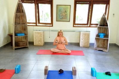 Хатха йога в Убуде на Бали