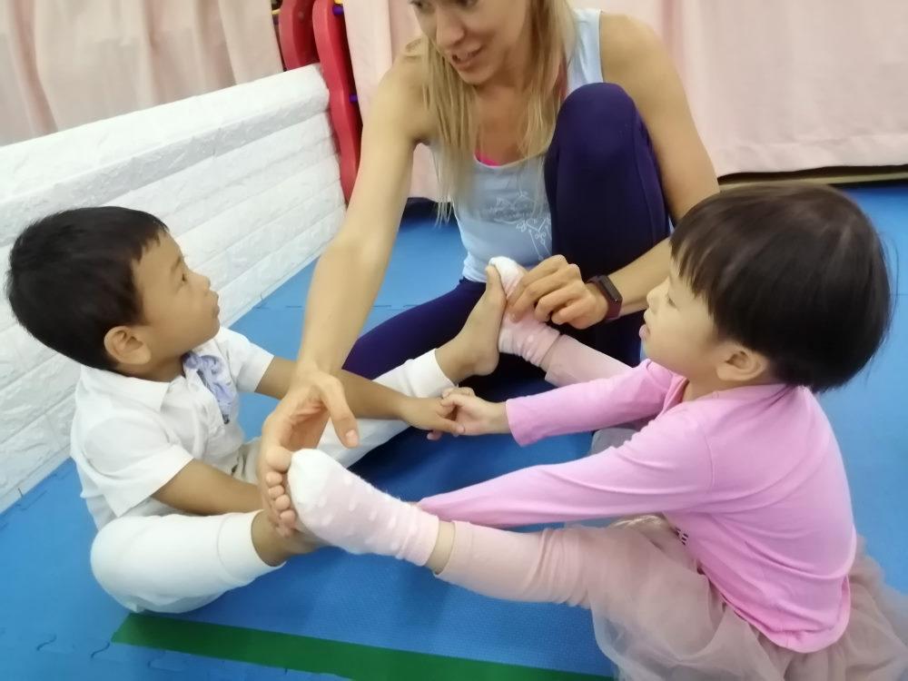 yoga kids kindergarten