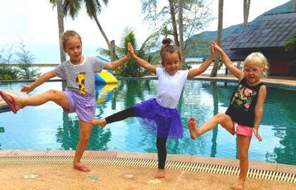 Yoga video courses for kids